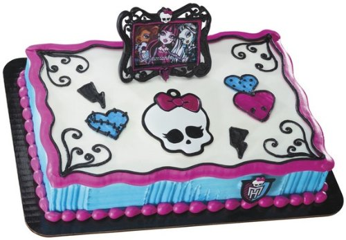 Monster High Frame and Skullette DecoSet Cake Decoration - 1