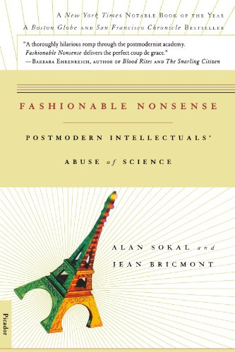 Fashionable Nonsense: Postmodern Intellectuals' Abuse of Science: Alan Sokal, Jean Bricmont: 9780312204075: Amazon.com: Books