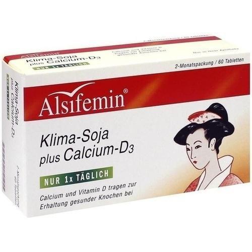 Alsiroyal ALSIFEMIN Klima Soja+Calcium+D3 Tabl., 60 St