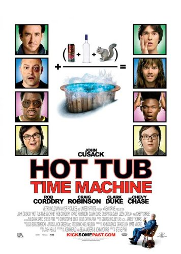 Hot Tub Time Machine Movie Poster (27 x 40 Inches - 69cm x 102cm) (2010) -(John Cusack)(Clark Duke)(Craig Robinson)(Rob Corddry)(Sebastian Stan)(Lyndsy Fonseca)