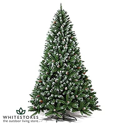 Mercer Leisure 7ft Green Indoor Undecorated Artificial Estonian Pine Decoration Christmas Tree by Mercer Leisure