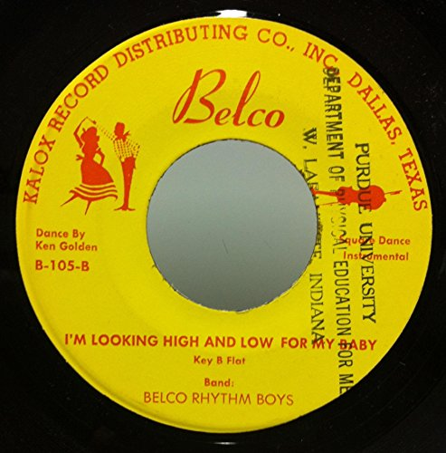 ken-golden-belco-rhythm-boys-im-looking-high-and-low-for-my-baby-45-rpm-single