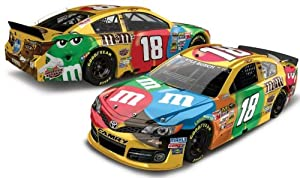 Buy 2013 Kyle Busch #18 M&M's Budweiser Duel Win Raced Win Version 1 24 Diecast Lionel Action Racing Collectables by NASCAR STORE
