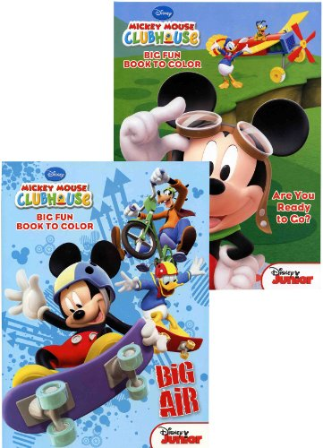 Disney Mickey & Friends 96 pg Coloring Book (Assorted) - Mickey Mouse