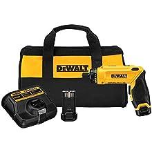 Dewalt 8-Volt Screwdriver Kit With 2 Batteries