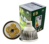 EnergyBrite, MR16 4w 12V LED Bulb GU5.3 DayWhite 6000k 50W Equivalent,Energy Saving from EnergyBrite