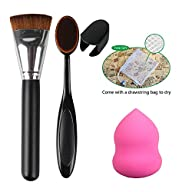 Makeup Brush Set, Fiery Youth Beauty Sponge Blender Sofe Makeup Tools Sponge Puff Cosmetic…