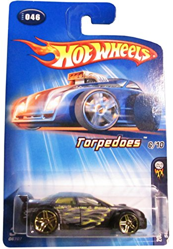 Mattel Hot Wheels 2005 First Editions 1:64 Scale Torpedoes Black Subaru WRX Die Cast Car #046