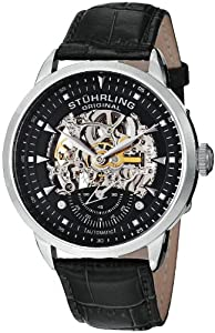 Stuhrling Original Men's 133.33151 Symphony Aristocrat Executive Automatic Skeleton Black Watch