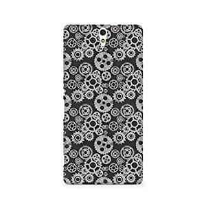 Ebby Vintage Gear Overload Premium Printed Case For Sony Xperia C5