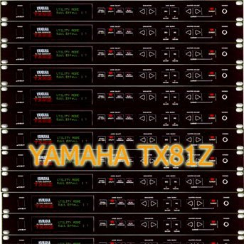 YAMAHA TX81Z Huge Sound Library & Editors on