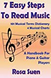 7 Easy Steps To Read Music - A Handbook for Piano & Guitar Players: 1 (Learn How To Read Music)