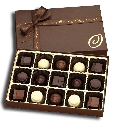 Napa Valley Wine Boxed Chocolates (15-Piece Box)