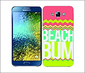 Galaxy Printed 2906 Summer Statement BeachBum Hard Cover for Samsung ACE 3 (7272)