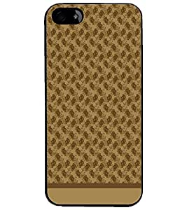 PrintDhaba Pattern D-1585 Back Case Cover for APPLE IPHONE 5 (Multi-Coloured)
