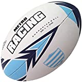 Racing Metro - Ballon de Rugby des Supporters Taille 5 - taille 5...