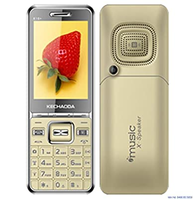 4f07dc21a05 Kechaoda K16 Champagne Mobile 2.8 inch TFT Display phone Dual SIM cell Dual  Standby Keypad Cellphone