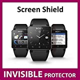 Sony Smart Watch 2 SW2 Invisible Screen Protector (Front Screen Shield) Exclusive to Ace Case