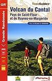echange, troc FFRandonnée - Volcan du Cantal : Pays de Saint-Flour et de Ruynes-en-Margeride
