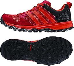 adidas Performance Kanadia 7 TR K Trail Running Shoe ,Power Red/Orange/Vivid Red,13 M US Little Kid