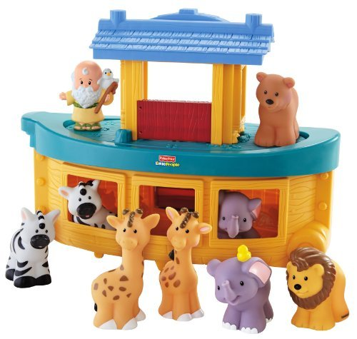 Fisher-Price Little People Noah'S Ark Children, Kids, Game front-1043139