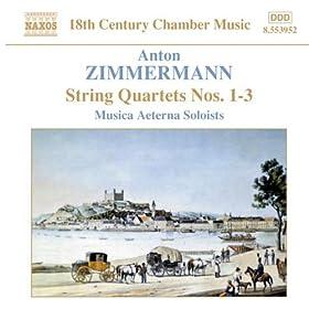 String Quartet No. 3 in F major, Op. 3: IV. Menuetto