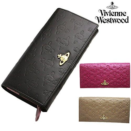 (ヴィヴィアンウエストウッド) Vivienne Westwood ヴィヴィアンウエストウッド 財布 VIVIENNE WESTWOOD 1032 TYPO ORB EMBOSSED 長財布 選べるカラー[並行輸入品]