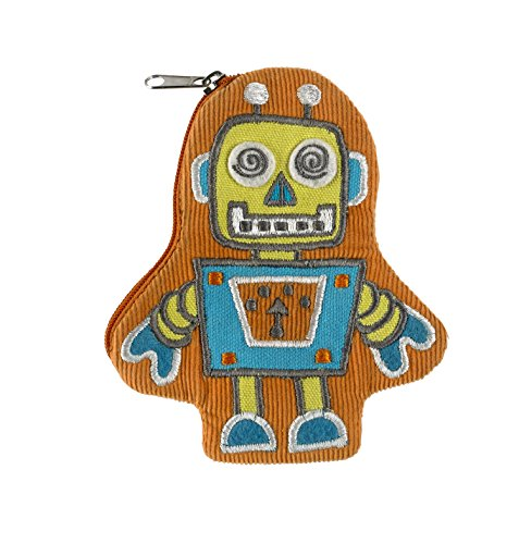 ORE Originals Zippee Coin Pouch, Retro Robot