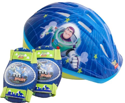 Toy Story Toddler's Pacific Disney Pixar Helmet and Pads