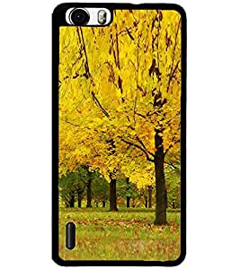 ColourCraft Beautiful Tree Design Back Case Cover for HUAWEI HONOR 6