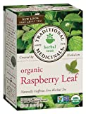 Traditional Medicinals - Raspberry Leaf Herb Tea, .85 0z (24g) 16 bags