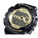 [カシオ]CASIO 腕時計 G-SHOCK G-ショック Black × Gold Series ブラック×ゴールドシリーズ GD-100GB-1 メンズ [逆輸入モデル]