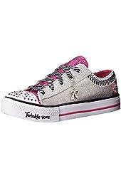 Skechers Kids Twinkle Toes Charmingly Chic Light-Up Sneaker (Little Kid)