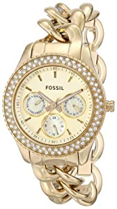 Fossil Women's ES3499 Stella Analog Display Analog Quartz Gold Watch