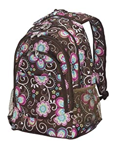 Bliss Living Home Bliss Brown Flower Backpack at Sears.com