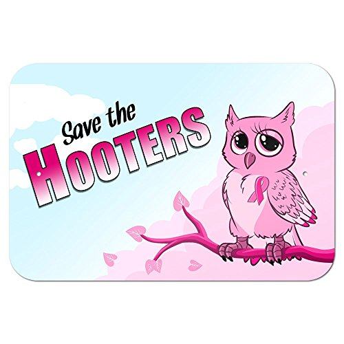 graphics-and-more-229-x-152-cm-save-the-hooters-owl-breast-cancer-awareness-pink-ribbon-metal-sign
