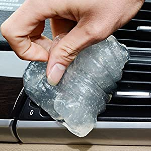 Car Clean Tool Auto Universal Cyber Super Clean Glue Car Cleaning Sponge Products Microfiber Dust Tools Mud Gel Goods car gadget free shipping