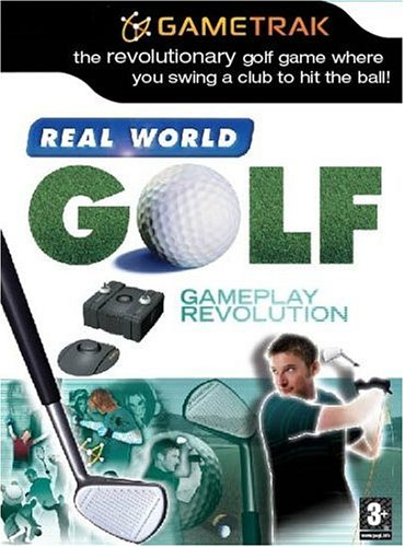 Real World Golf with Gametrak Controller  (PS2)