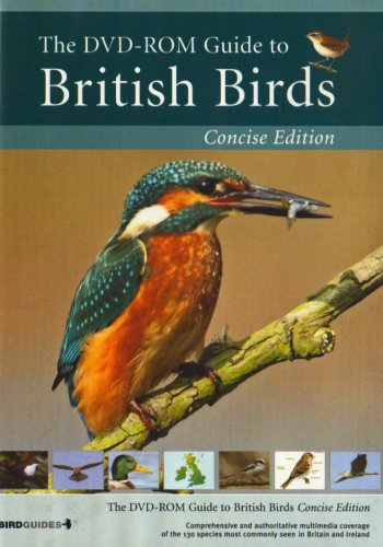 DVD-ROM Guide to British Birds - Concise Edition (PC DVD)