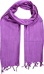 Sahiba Creation trendy and colourful women stole for all time wear(purple)