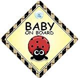 Baby on Board Car Sign Grandchild on Board baby Car Sign Ladybird Baby on Board Car Sign Bumper Sticker Baby Car Sign Baby on Board Car Sign Unisex Baby On Board Car Sign Decal Bumper Sticker Grandchild On Board Baby Signs