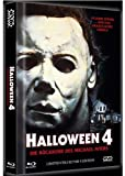 Halloween 4 : Return Of Michael Myers - Mediabook Blu-ray + DVD + Soundtrack CD