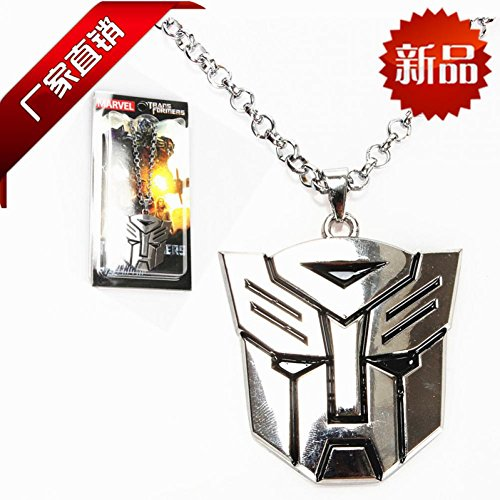 Hope Tree B01029 Manufacturers Selling New Europe And America Movie Theme Large Transformers Autobot Sweater Necklace