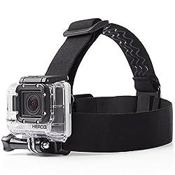 AmazonBasics Head Strap Mount for GoPro (Black)