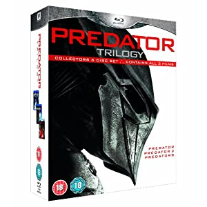 Predator Trilogy(predator Ultimate Hunter Edition/ [Blu-ray] [Import anglais]