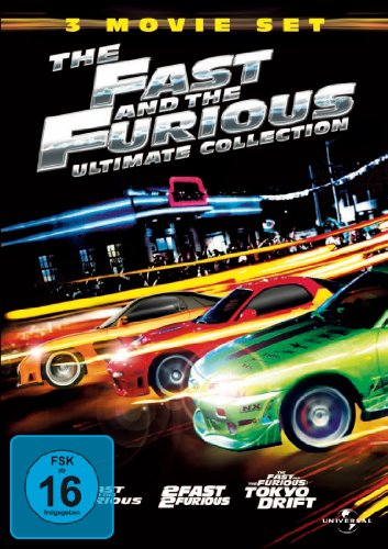 The Fast and the Furious Ultimate Collection [3 DVDs]