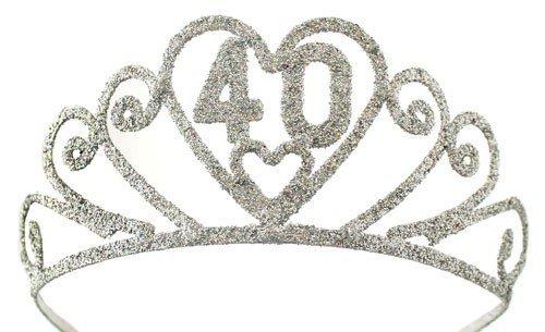 Elope 40 Glitter Tiara Costume