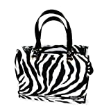 PuchiBag PuchiBag Petsak Tote Out of Africa BW Pet Carrier, Multi-color, Cotton, 15L x 8W in.