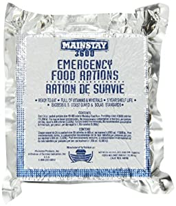 Mainstay Emergency Food Rations - Case of 10 Packs by Mainstay