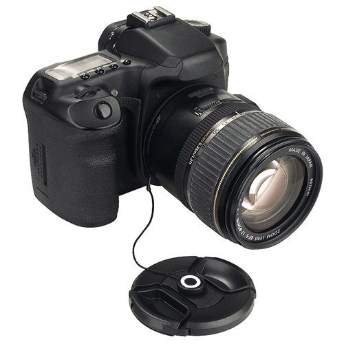 eForCity LENS CAP KEEPER HOLDER FOR NIKON D5000, D3000, D90, D60